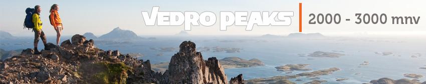 Vedro Peaks - 2000 do 3000 mnv